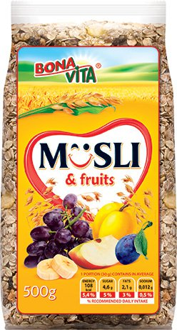 Muesli with Fruits (500g)