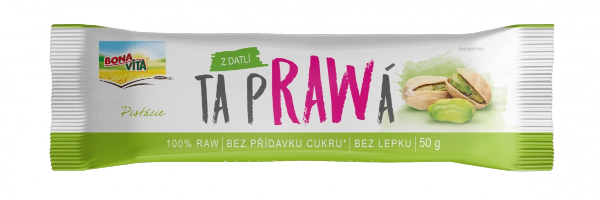 RAW Bar with pistachios 50g