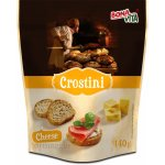 Crostini with cheese flavour 140g