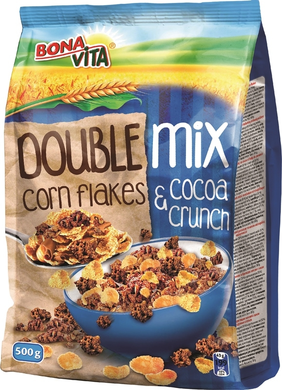 DOUBLE MIX (Corn Flakes & Cocoa Crunch) 500g