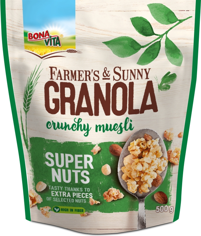 Granola SUPER NUTS (500 g)