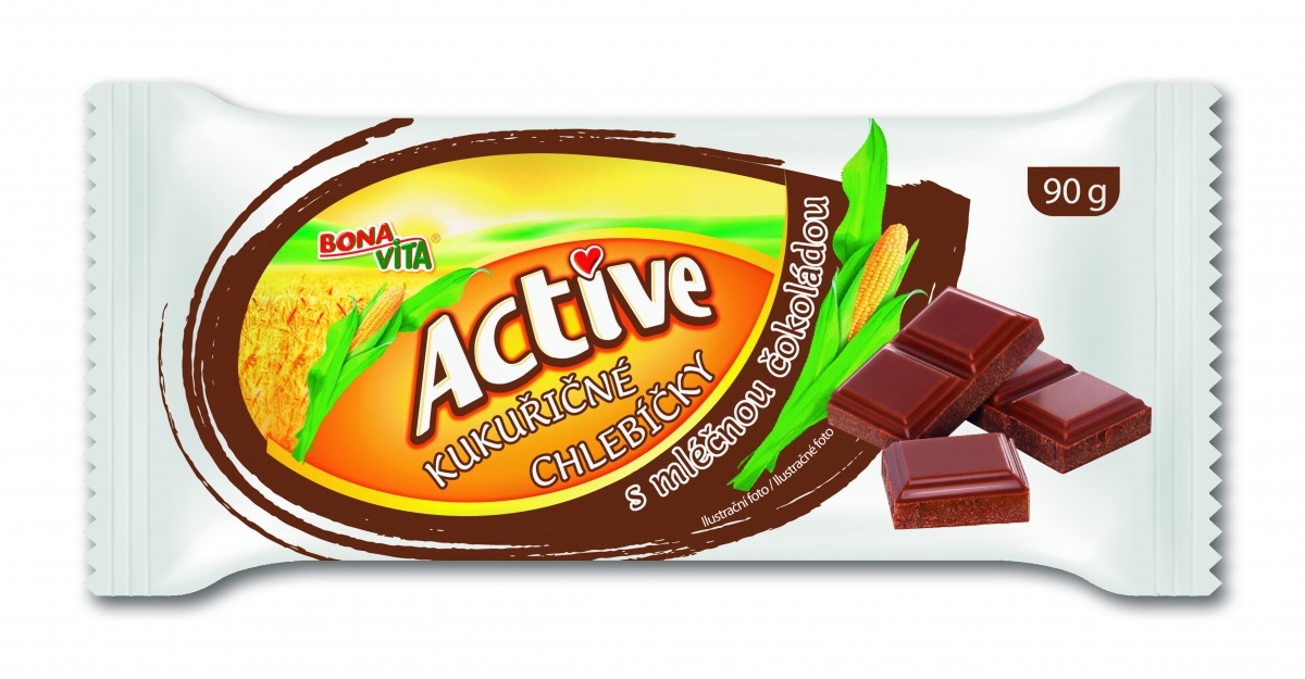Corn sandwiches with milk chocolate 90g